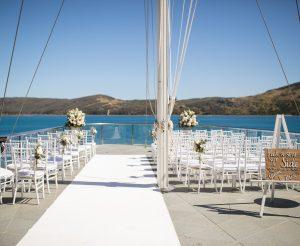 Yacht Club Flag deck ceremony - 1808080226