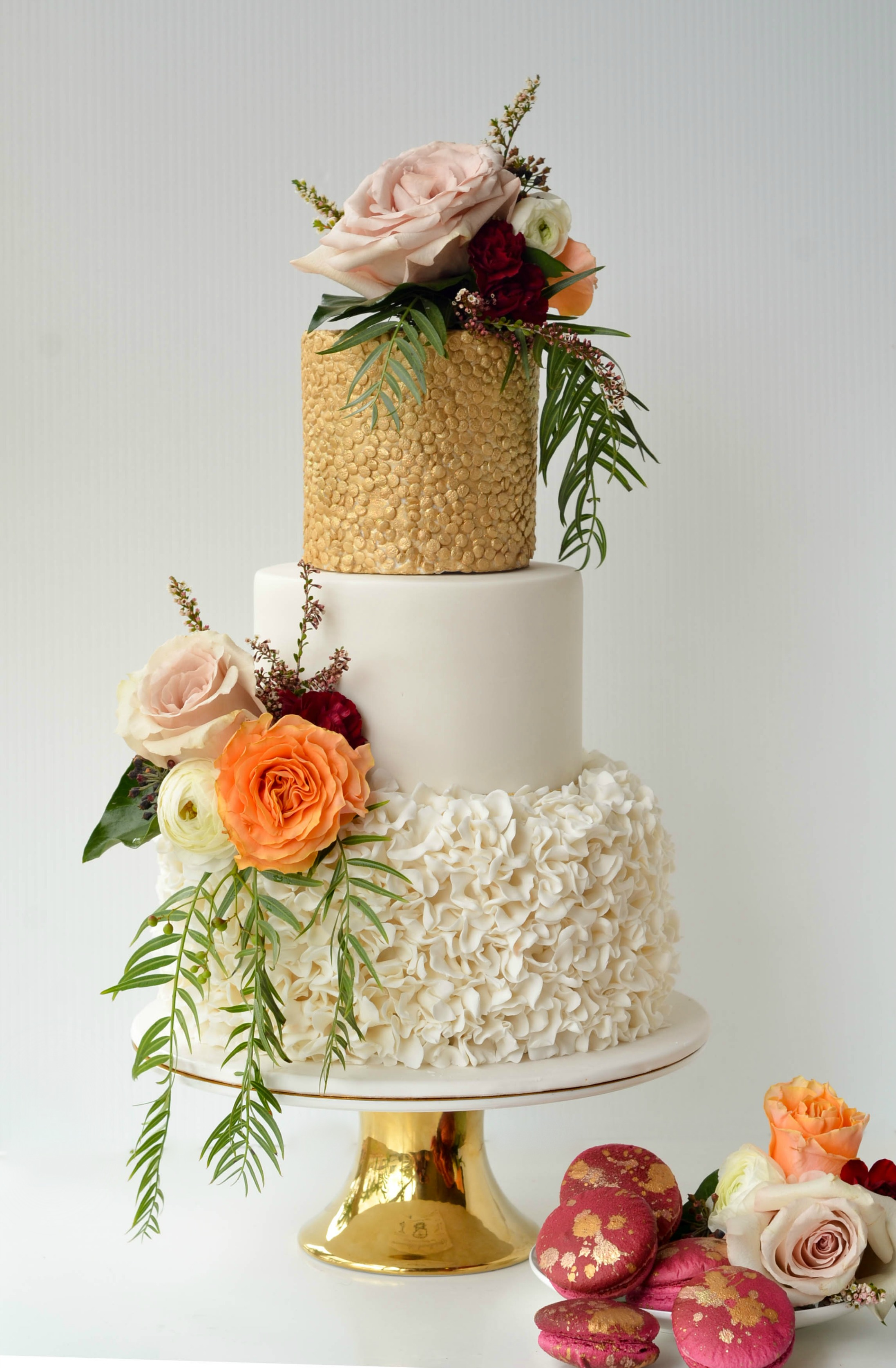 Awesome Wedding Cake Pictures In Nigeria Festooning - The Wedding ...
